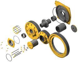 Onderdelen metaalbewerkingsmachines